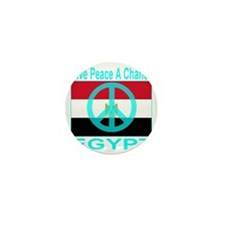 Egypt Give Peace A Chance Mini Button