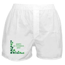 HAPPY ST. PATRICKS DAY! Boxer Shorts
