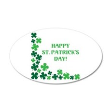 HAPPY ST. PATRICKS DAY! Wall Decal