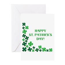 HAPPY ST. PATRICKS DAY! Greeting Cards