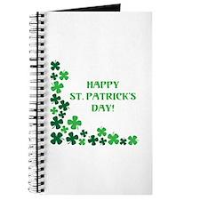 HAPPY ST. PATRICKS DAY! Journal