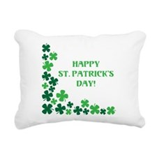 HAPPY ST. PATRICKS DAY! Rectangular Canvas Pillow