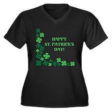 HAPPY ST. PATRICKS DAY! Plus Size T-Shirt