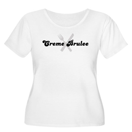 Creme Brulee (fork and knife) Women's Plus Size Sc