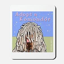 Adopt a Komondor Mousepad