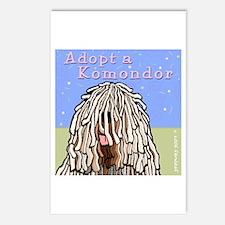 Adopt a Komondor Postcards (Package of 8)