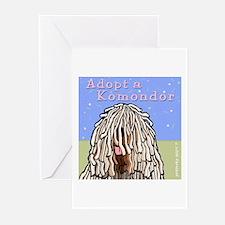 Adopt a Komondor Greeting Cards (Pk of 10)