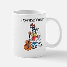 I Love Rocknroll!!! Mugs