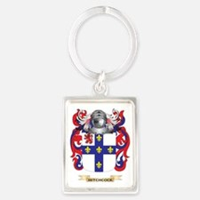 Hitchcock Coat of Arms (Family C Portrait Keychain