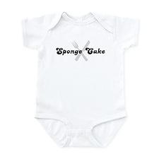 Sponge Cake (fork and knife) Infant Bodysuit