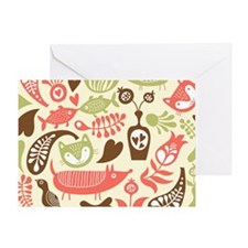 Whimsical Pattern Greeting Card