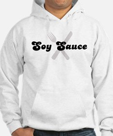 Soy Sauce (fork and knife) Hoodie