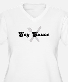Soy Sauce (fork and knife) T-Shirt