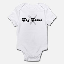 Soy Sauce (fork and knife) Infant Bodysuit