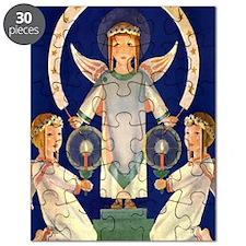 Scandinavian Saint Lucia Angels Puzzle