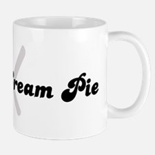 Boston Cream Pie (fork and kn Mug