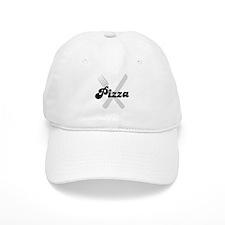 Pizza (fork and knife) Baseball Cap