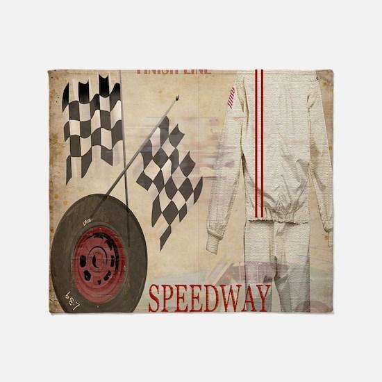 Speedway Throw Blanket