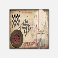 """Speedway Square Sticker 3"""" x 3"""""""