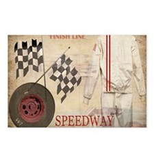 Speedway Postcards (Package of 8)