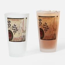 Speedway Drinking Glass
