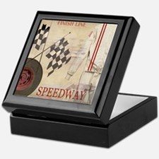 Speedway Keepsake Box
