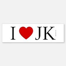 I (heart) JK (Bumper)