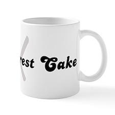 Black Forest Cake (fork and k Mug