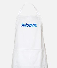 dancing dolphins BBQ Apron