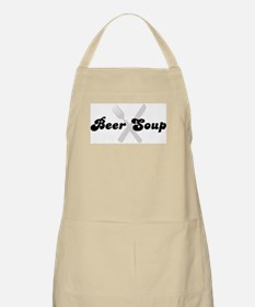 Beer Soup (fork and knife) BBQ Apron