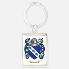 Hollingsworth Coat of Arms (Fami Portrait Keychain