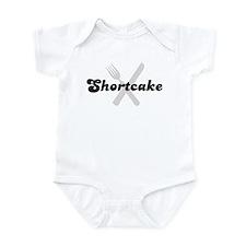 Shortcake (fork and knife) Infant Bodysuit