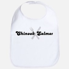 Chinook Salmon (fork and knif Bib