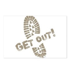 Get Out! Postcards (Package of 8)