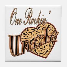 Rockstar Uncle Tile Coaster