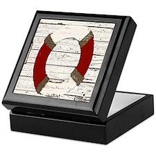 Red Life Ring Keepsake Box