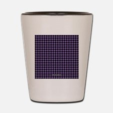 Houndstooth Classic Shot Glass