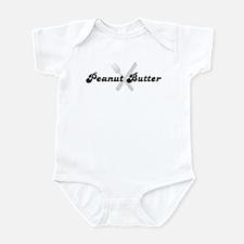 Peanut Butter (fork and knife Infant Bodysuit