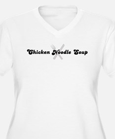 Chicken Noodle Soup (fork and T-Shirt