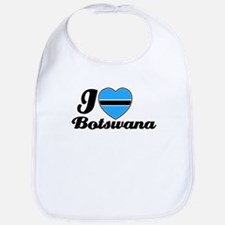 I love Botswana Bib