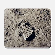 Apollo 11 Bootprint Mousepad