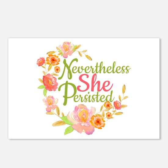 Nevertheless She Persiste Postcards (Package of 8)