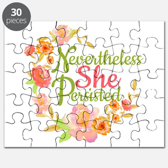 Nevertheless She Persisted Puzzle