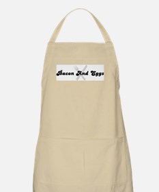 Bacon And Eggs (fork and knif BBQ Apron