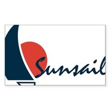 sunsail Rectangle Decal
