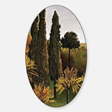 Henri Rousseau: Walking in the Parc Decal