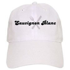 Sauvignon Blanc (fork and kni Baseball Cap
