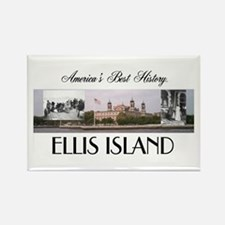 ABH Ellis Island Rectangle Magnet