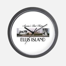 ABH Ellis Island Wall Clock
