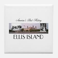 ABH Ellis Island Tile Coaster